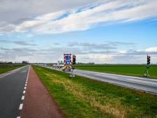 Verkeerslichten remmen het verkeer tussen Kampen en Dronten