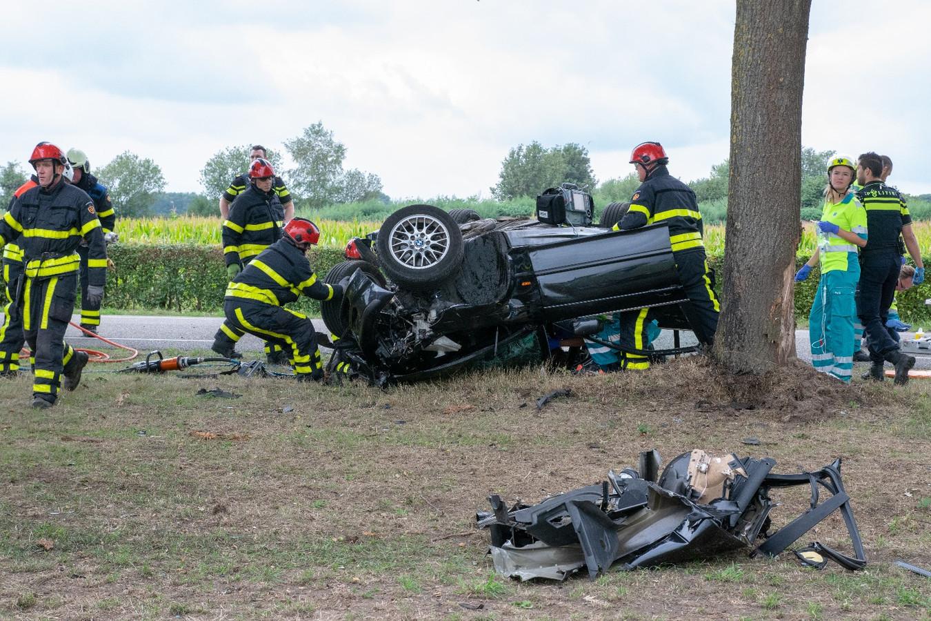 Zwaar ongeluk bij terrein Decibel.