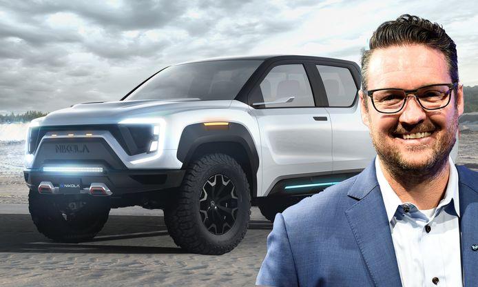 Trevor Milton, CEO van Nikola Motor Company, wil later dit jaar de stoere pick-up Badger voorstellen tijdens een groot evenement. Je kan de wagen vanaf 29 juni bij hem reserveren
