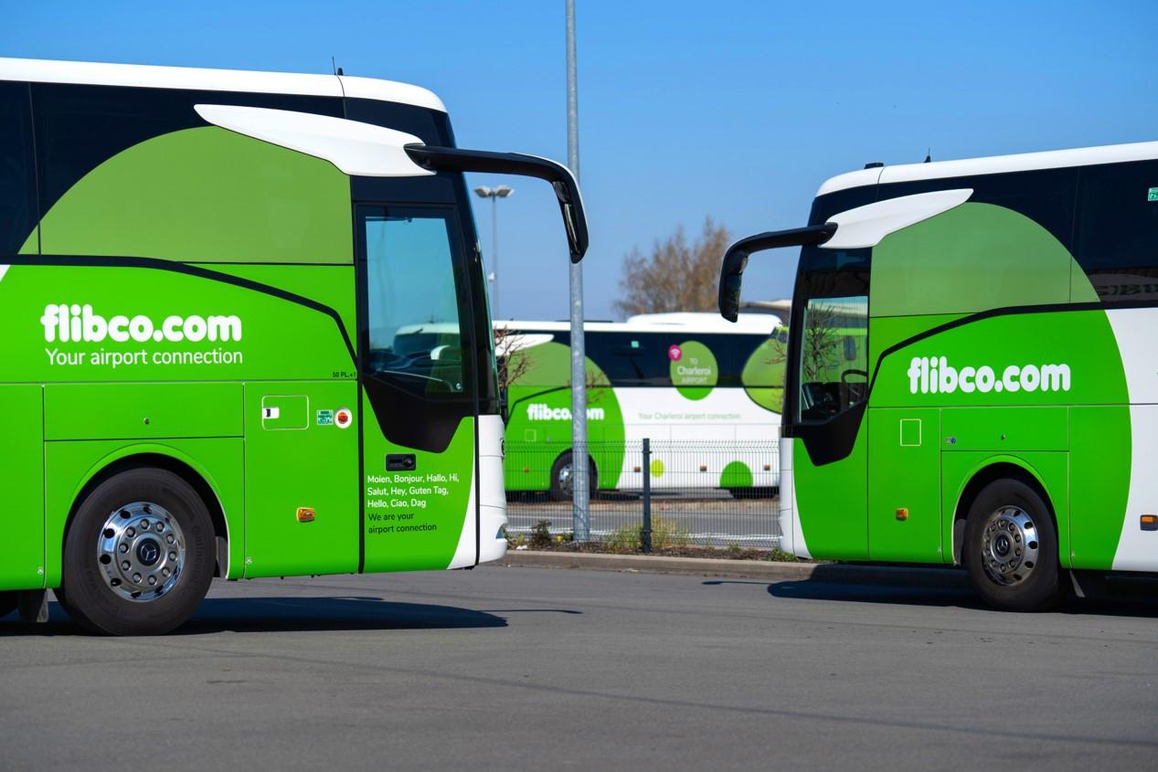 De Flibco-bussen rijden straks weer vanuit Brugge naar de luchthaven van Charleroi.