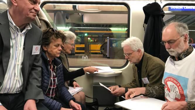Actiecomité Goederentreinen Nee schudt politiek Den Haag wakker