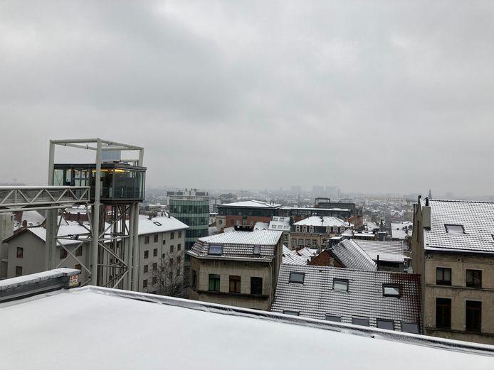 Er valt weinig sneeuwpret te beleven in de hoofdstad.
