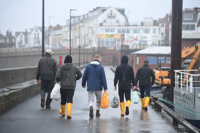 Britse vissers.