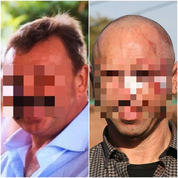 Marino S. (l) en Yvan S. (r) verschenen vorige maand voor de strafrechter in Brugge.