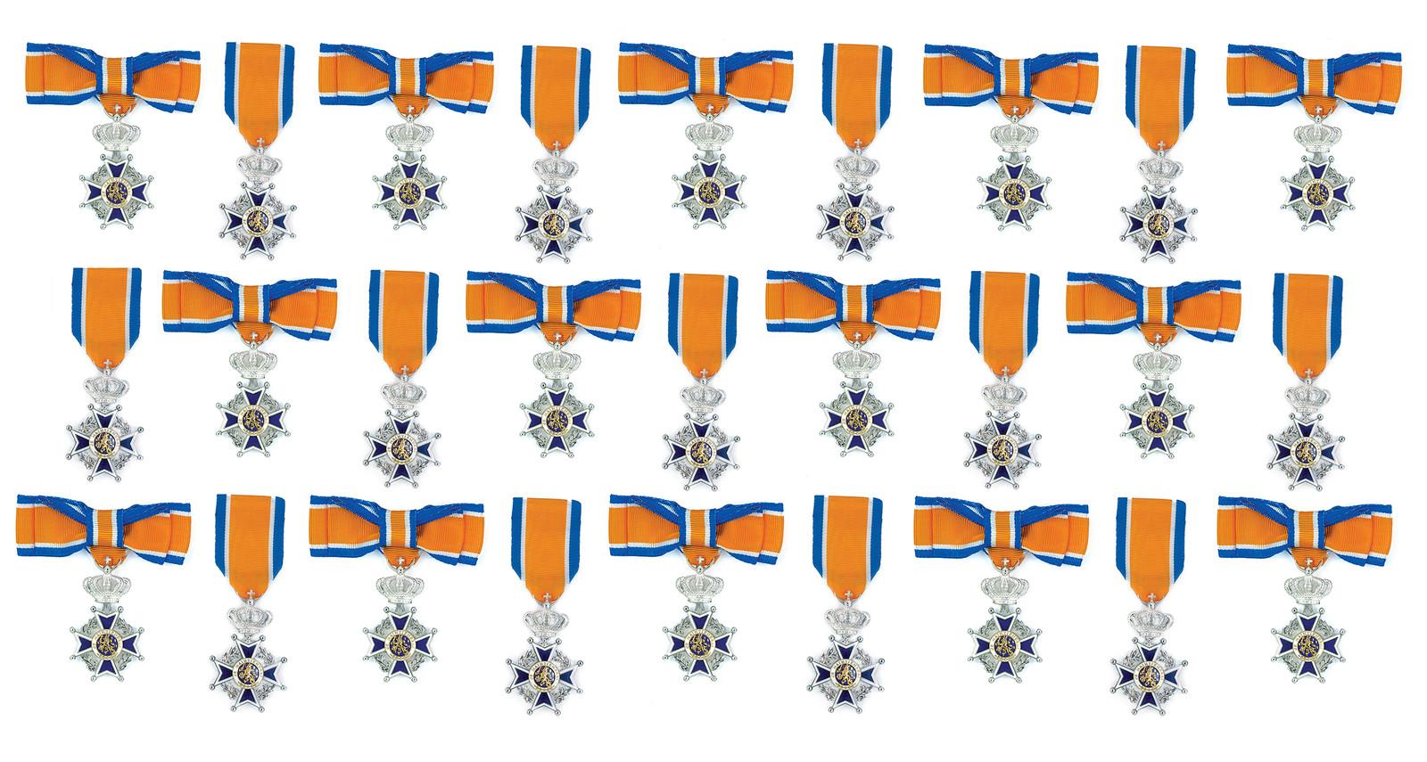 Onderscheiding Lid in de Orde van Oranje-Nassau (dame).