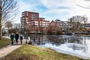 De Lourdeskade, een voorbeeld van nieuwbouw met behoud van cultureel en industrieel verleden.