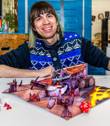 Jos knutselt hellen-landschappen voor Dungeons & Dragons en verkoopt ze over de hele wereld