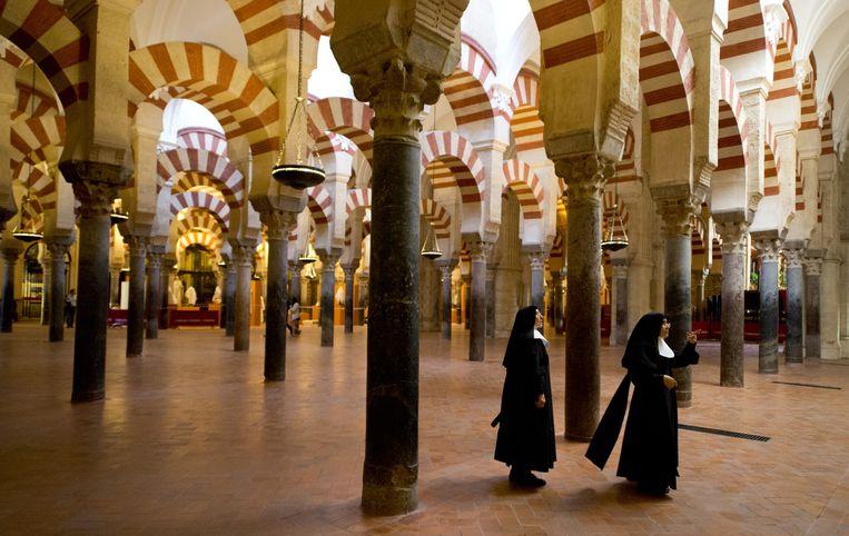 De Mezquita (Spaans voor moskee) van Córdoba, volgens de katholieke kerk een kathedraal, volgens anderen een publiek monument. Beeld Gerard Julien / AFP