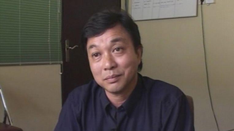 Ang Kiem Soei in een reportage van de NOS in 2003. Beeld Videostill NOS