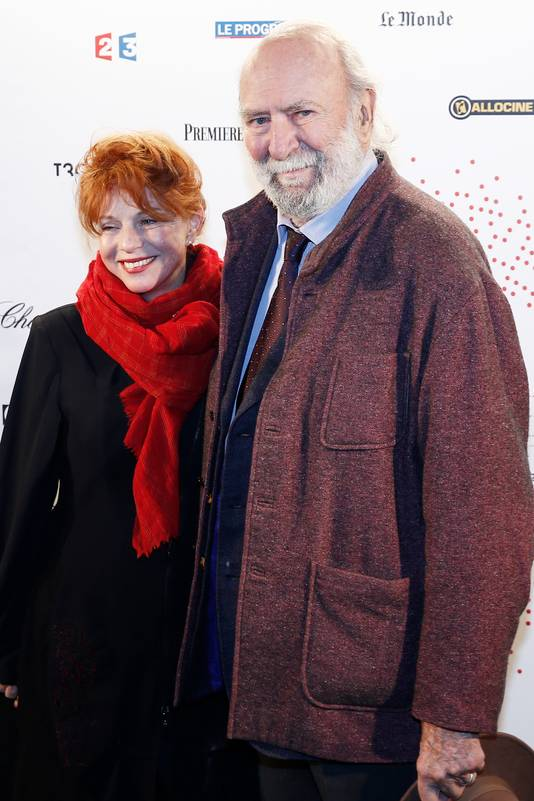 Jean-Pierre Marielle et son épouse, l'actrice Agathe Natanson