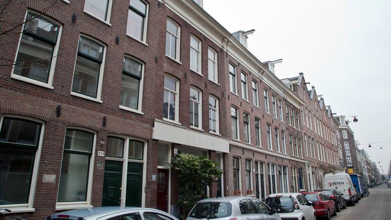 De woning in de Govert Flinckstraat is gesloten. Beeld Roï Shiratski