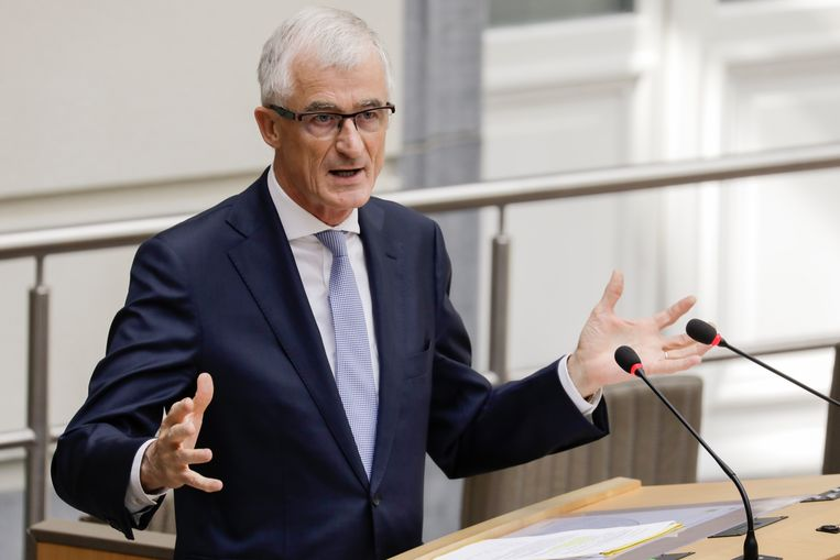 Vlaams minister-president Geert Bourgeois (N-VA) Beeld BELGA