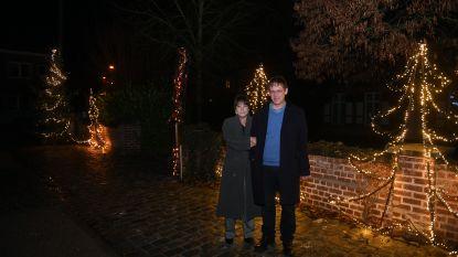 Voor het tweede jaar kerstverlichting in Oud-Heverleese centrum