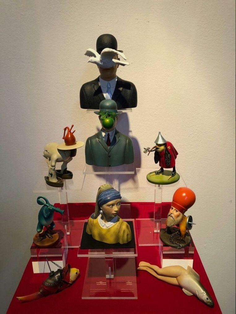 Guillaume Bijl, 'Composition Trouvée' (2020), Lumen Travo Gallery. Beeld Galleryviewer