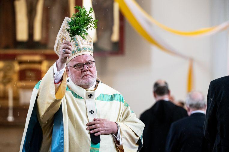Reinhard Marx, aartsbisschop van München.  Beeld Matthias Balk/dpa