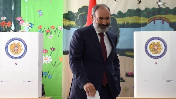 Huidig premier eist overwinning verkiezingen Armenië op, tegenstanders vermoeden stembusfraude