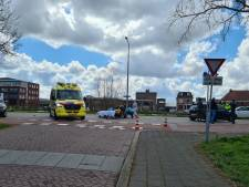 Scooterrijdster gewond bij aanrijding in Gouda