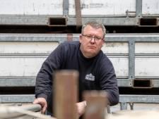 Tentenverhuurder Ko (49) is tijdelijk trucker: 'Ik laat ons familiebedrijf niet zomaar kapot gaan'
