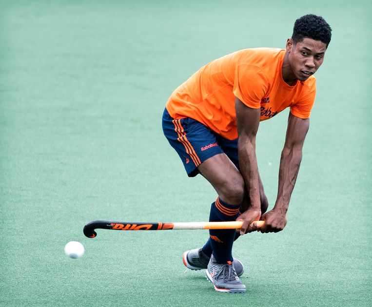 Hockeyer Terrance Pieters Beeld Klaas Jan van der Weij