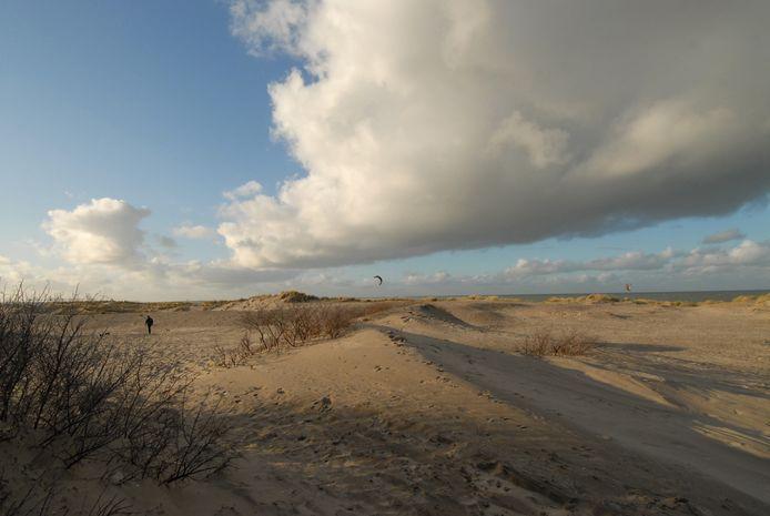 De dader vluchtte de duinen in. Foto ter illustratie.