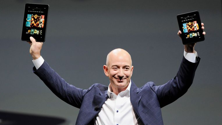 Amazon-baas Jeff Bezos Beeld REUTERS