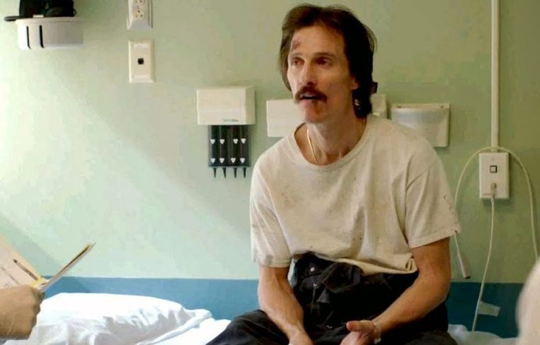 Matthew McConaughey in 'Dallas Buyers Club' Beeld Focus Features