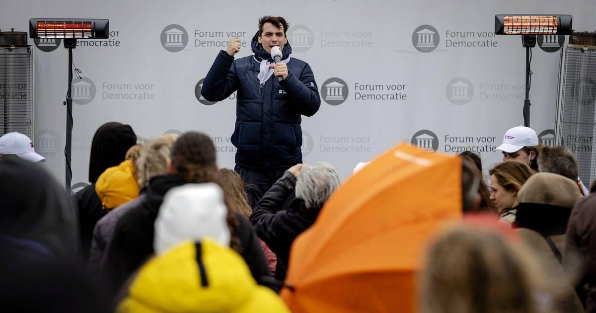 Gemeente Heerlen beëindigt bijeenkomst Forum met Thierry Baudet - De Gelderlander