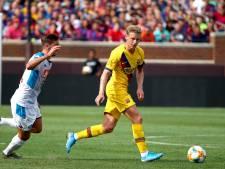 Barcelona wint opnieuw van Napoli, schitterende assist De Jong