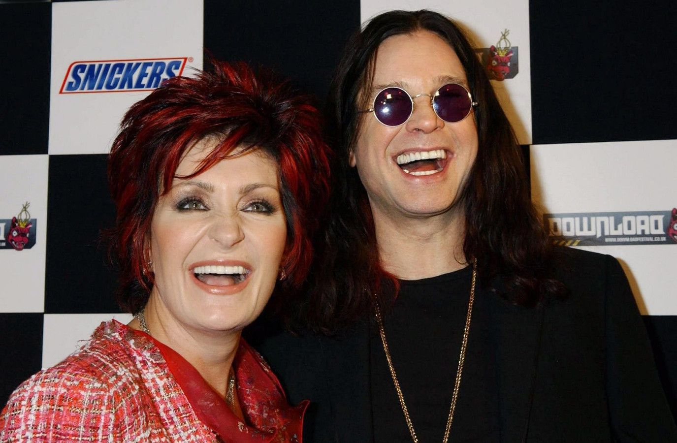 Sharon en Ozzy Osbourne in 2005.