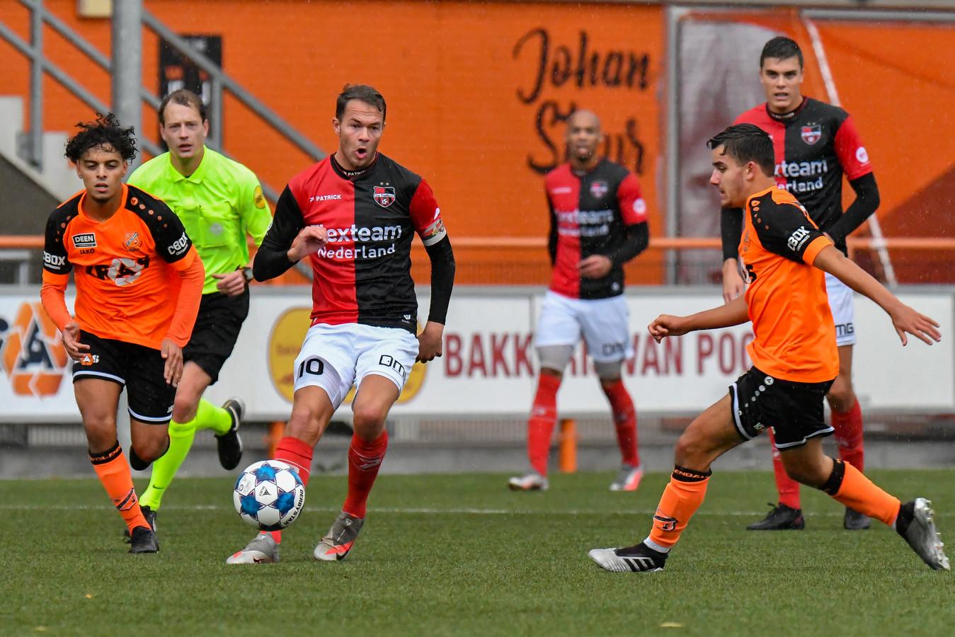 Voetbalt tweededivisionist De Treffers medio januari weer?