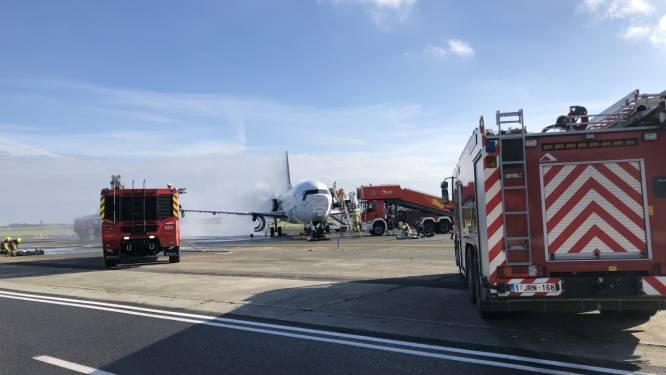 """'Vliegtuigcrash' op luchthaven: """"Meeste gesimuleerd met trainingsvliegtuig"""""""