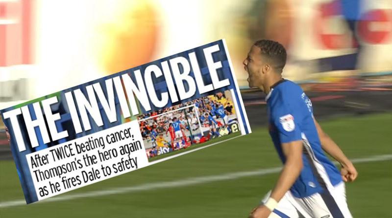"""""""The Invincible"""", kopte The Mirror."""