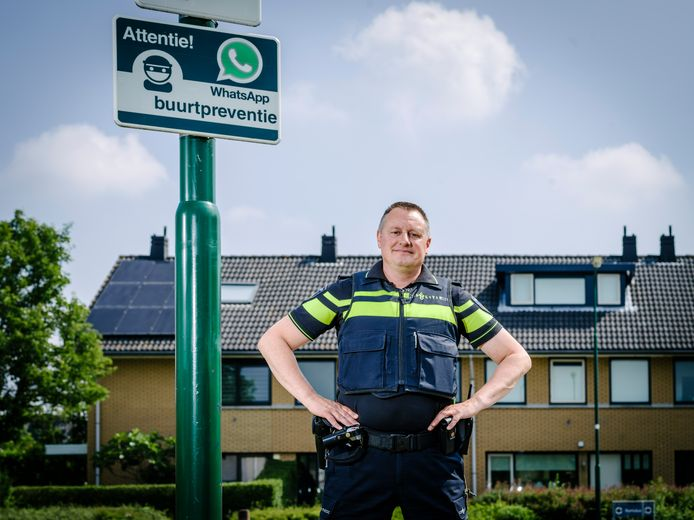 Sybren van der Velden, landelijk coördinator Woninginbraak & Heling.