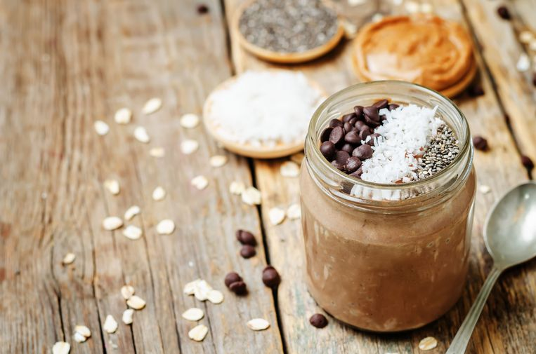 Overnight oats Beeld Getty Images