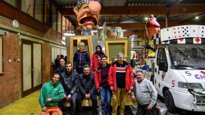 'T'Es Allemaul Iet': nieuwe groep maakt debuut in Dendermondse carnavalsstoet