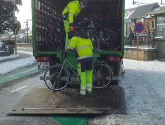 Achtergelaten fietsen uit stallingen station verwijderd: eigenaars kunnen tweewieler bij politie ophalen