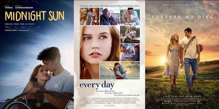 Alle romantische films die je in 2018 moet zien.