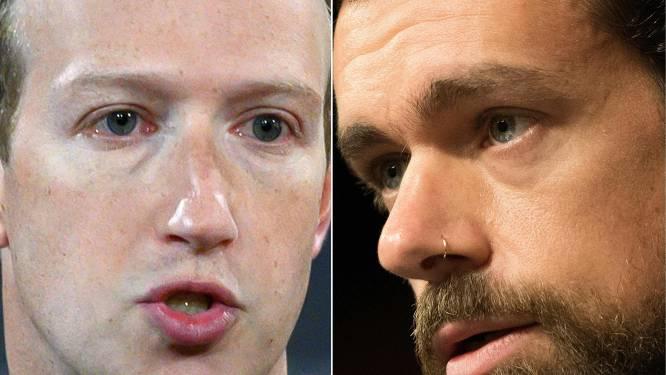 Topmannen Facebook en Twitter op het matje geroepen door de Senaat voor het blokkeren van kritisch artikel over Biden