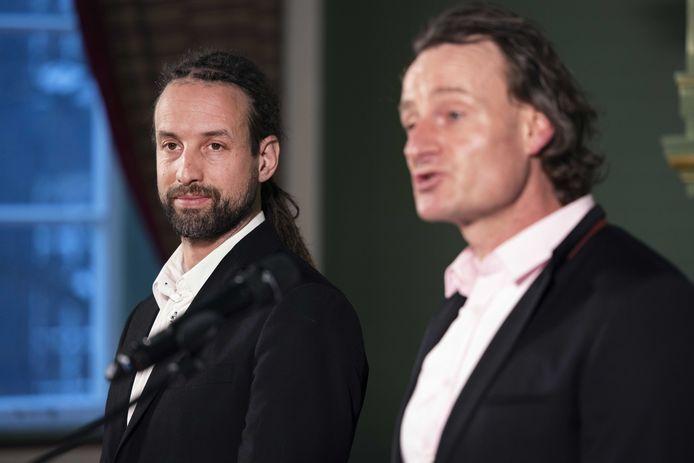 Jeroen Pols (R) en Willem Engel (L)