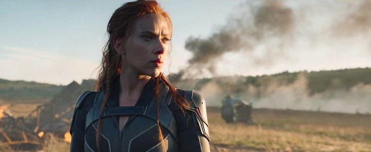 Scarlett Johansson in 'Black Widow'. Beeld RV/Marvel