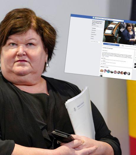 """Maggie De Block fédère la colère du personnel soignant sur Facebook: """"Elle doit démissionner!"""""""