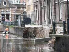 Instorten Grimburgwal deels door vaarverkeer veroorzaakt