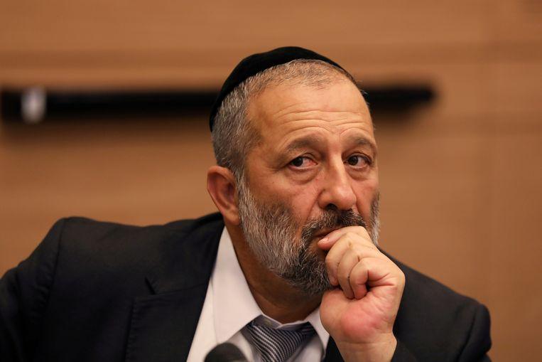 Israëlisch minister van Binnenlandse Zaken Aryeh Deri.