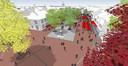 Op de Markt krijgen terrassen straks meer de ruimte en de parkeervakken verdwijnen grotendeels.