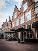 Het voormalige woonhuis van Maarten Tromp, nu het Poorter Boutique Hotel.