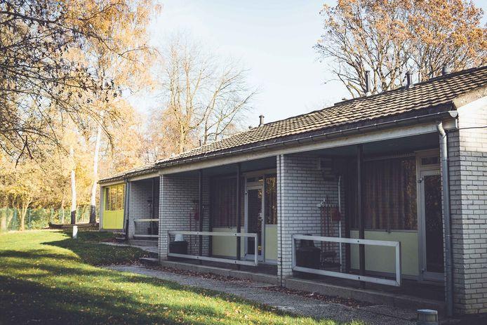 Les bungalows mis à disposition des réfugiés.