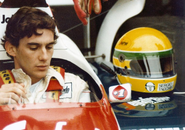Senna door de lens van fotograaf en vriend Angelo Orsi. Beeld Senna