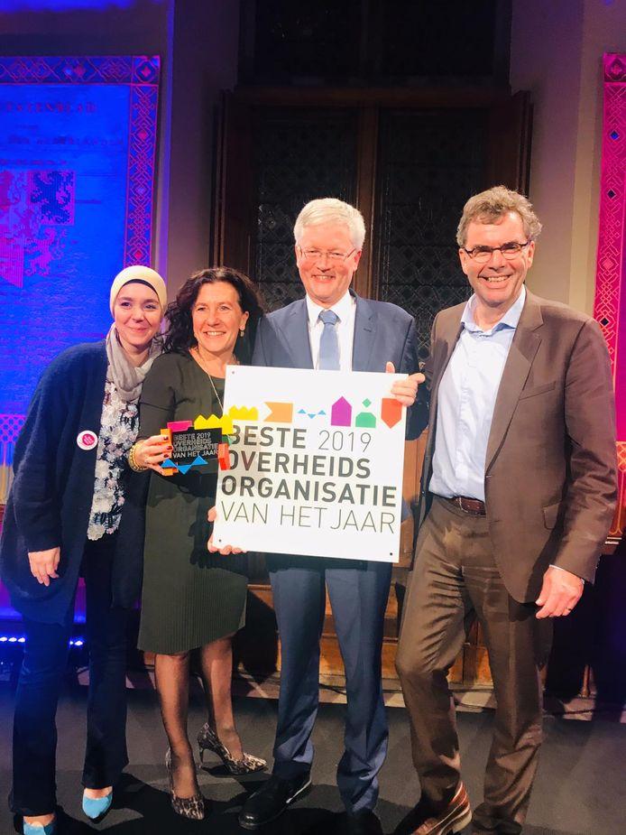 De gemeente Tilburg heeft de titel van Beste overheidsorganisatie van het jaar gewonnen.