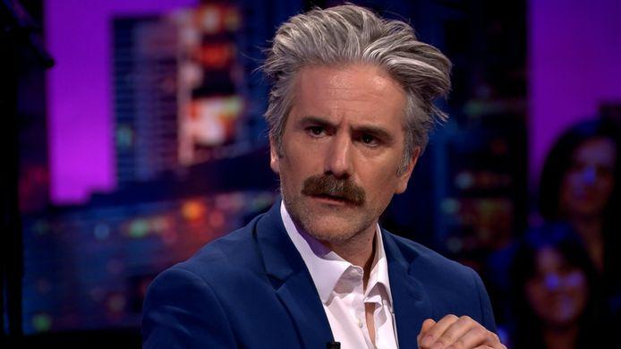 Jeroom in 'De Cooke & Verhulst Show'.