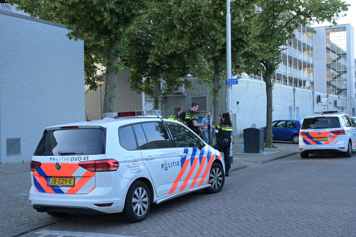 Mislukte overval in Tilburg.